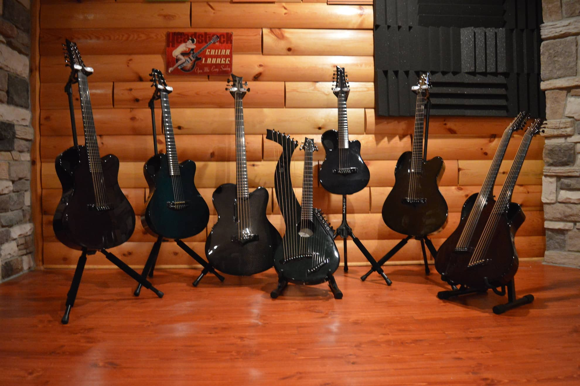 Emerald Acoustics Stands