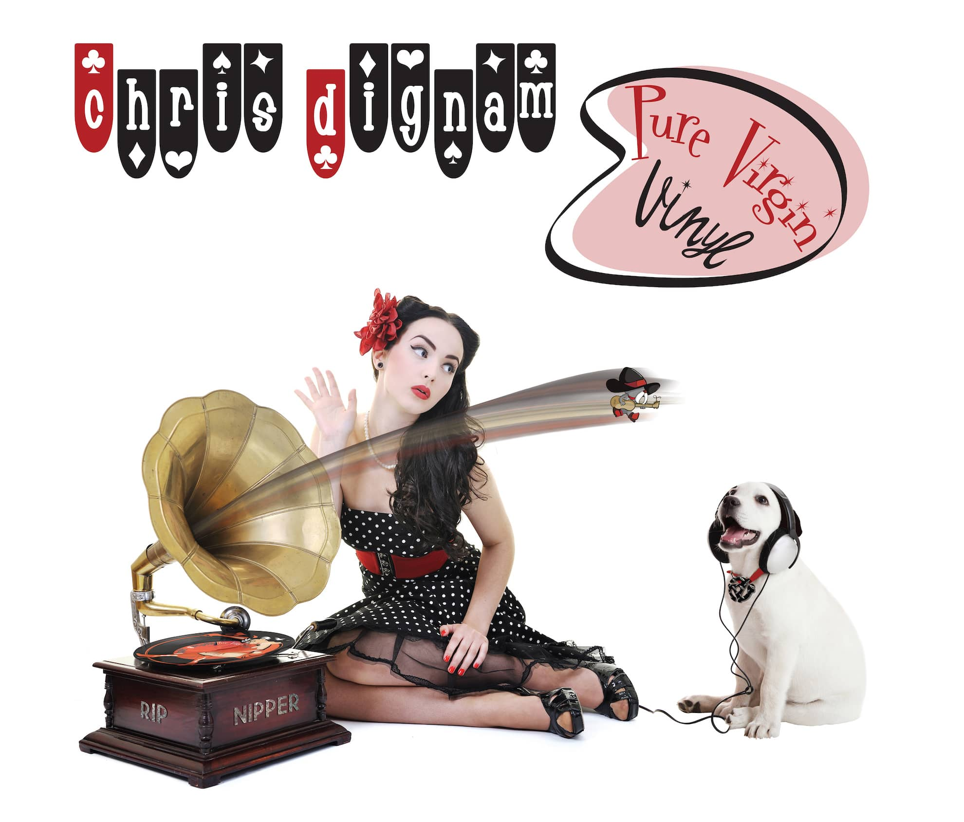 Pure VIrgin Vinyl Front Cover